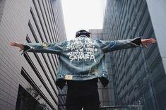 Fresh nd' Clean Jeans Jacke Denim Sahara Denim Jacket Men, Men's Denim, Denim Jackets, Jacket Style, Jeans Style, Jacket 2017, Wholesale Fashion, Fashion 2017, Jeans Fashion