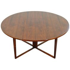 A Danish Mid. Century Dining Table | From a unique collection of antique and modern dining room tables at https://www.1stdibs.com/furniture/tables/dining-room-tables/