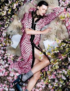 Vogue Japan August 2013 Editorial - Bette Franke