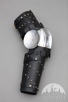 Medieval Splinted Armour Arms with Fluted Elbow Cops