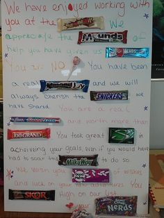 1000+ images about retirement candy boards on Pinterest ...