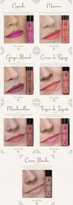 Site Unha Bonita | por Daniele Honorato » Arquivos Lips Tint Batom Líquido Matte UB Beauty
