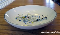 DIY Magnetic Pin Dish