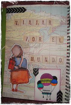 """Smash Book """"Viajar por el mundo"""" (1)"""