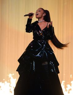 All the Best Looks from Ariana Grande's Dangerous Woman Tour - ELLE.com
