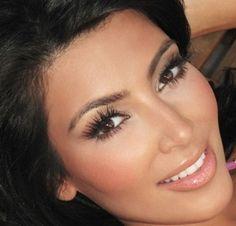 46 Best Ideas For Wedding Makeup For Brunettes Brows Kim Kardashian - Wedding Makeup Videos Kim Kardashian Makeup Looks, Kim Kardashian Wedding, Kardashian Beauty, Celebrity Makeup Looks, Kardashian Style, Wedding Makeup For Brunettes, Wedding Makeup Looks, Eye Makeup, Hair Makeup