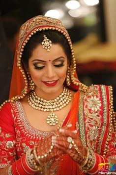 Bridal Hair Make up by Chandni Singh Chandni Singh Salon Academy, 15, Community centre, New Friends colony, New Delhi 110025. 01141666441/42 www.chandnisingh.com