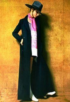 jean patou fashion photos   Vintage & Contemporary Trends: il cappotto lungo