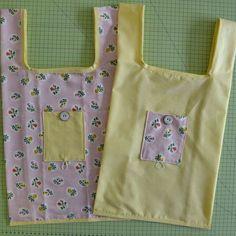 Marre des sacs plastiques qui se déchirent et qui polluent pour faire vos courses ? Pratique, ce petit tote-bag à coudre se replie sur lui-même pour se...