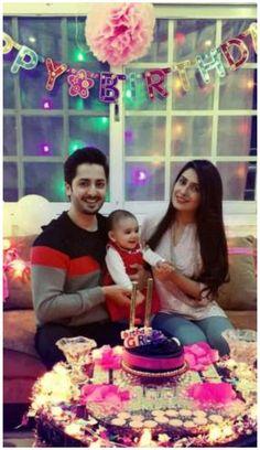 Ayeza Khan's Surprise Birthday Party 2016