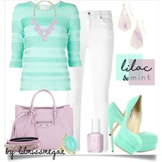 #281 - Lilac & Mint