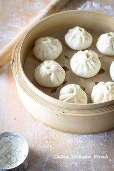 Chinese steamed pork bun