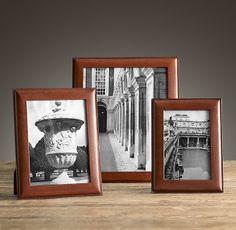 Artisan Leather Narrow Frames Chestnut