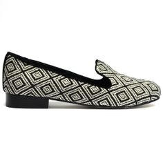 GONSKI   Midas #pattern #geometric #details #albert #slipper #shoes #lowheel #style #midas #midasshoes