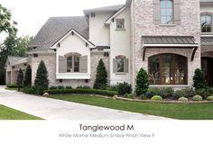 Bricks Tanglewood M White Mortar Medium Smear Technique
