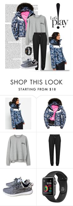 """""""puffer jacket!"""" by vouskrys ❤ liked on Polyvore featuring Superdry, MANGO, adidas and PerfectPufferJackets"""