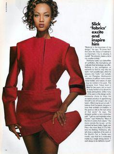 Tyra by Gilles Bensimon, 1991 Vogue