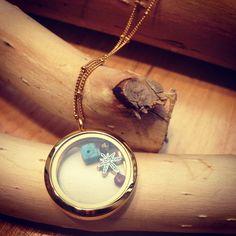 lucky locked necklace de la boutique LIZAKORN sur Etsy