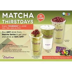 8 Best Time for Free Chatime! images in 2013 | Bubble Tea, Canning
