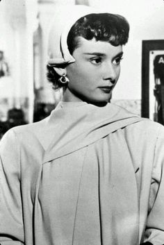 Audrey Hepburn portrays the role of ''Linda Farrell/Melissa Farrell'' in the film ''Monte Carlo Baby'' a 1951 British-French comedy movie.