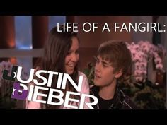 life of a fangirl Justin bieber