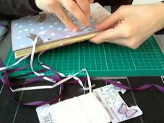 Tutorial Scrap: Diario-Agenda - Scrap Diary-Notebook DIY - YouTube
