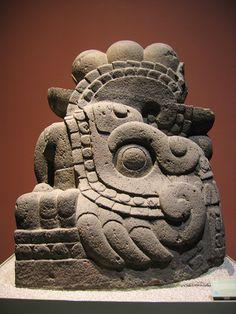 Xiuhcóatl - the fire serpent  Museo Nacional de Antropología, Mexico City.