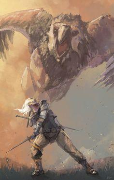 The Witcher Fan Art by Bryn G.