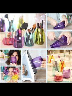 Plastic Bottle Art :) So Cute #Various #Trusper #Tip