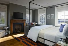 Topping Rose House // Guest Room // Champalimaud Design