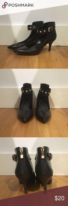 Spotted while shopping on Poshmark: BCBGeneration Studded Strappy Heels! #poshmark #fashion #shopping #style #BCBGeneration #Shoes