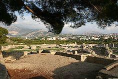 Roman ruins at Salona, Croatia