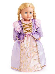 Classic Rapunzel Doll Dress