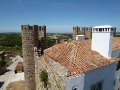 """""""Pousada do Castelo"""" (Hotel), Obidos Portugal (Luglio)"""