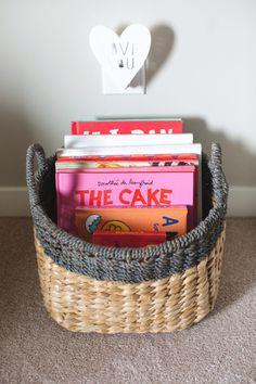 Gray Nursery Storage Bin