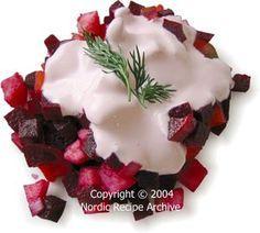 Rosolli -  Finnish Beetroot Salad