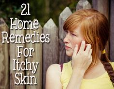 Natural Skin Remedies 21 Home Remedies for Dry, ITCHY Skin!: - Winter is just around the corner, which means dry and itchy skin isn't far behind! Be prepared with 23 natural remedies to help stop the itch. Home Health, Health And Wellness, Health And Beauty Tips, Health Tips, Health Recipes, Aloe Vera, Tips Belleza, Belleza Natural, Natural Home Remedies