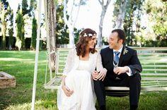 Una cálida boda de otoño en el Monasterio de Valdonzella Foto: Blanca Gaig #realwedding #bodas #wedding #bodascondetalle