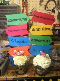 Table Decoration Ideas For Retirement Party easy table centerpiece for end of year preschool party dr seus oh the places you Retirement Centerpiece Retirement Centerpiece Retirement Party Ideas