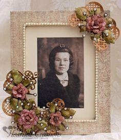 Heartfelt Creations | Vintage Juliet Frame