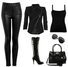 All black, I love this!