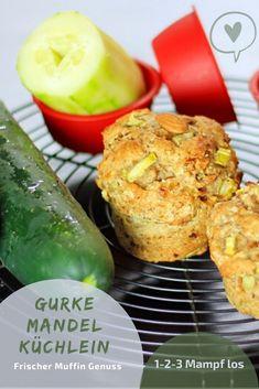 Habt ihr Lust mitzubacken? Alle trockenen Zutaten in eine Schüssel geben - Nuss Mus & Datteln mit ca. 40 ml Wasser glatt pürieren - Mandeln anrösten & grob häckseln - alles zu einem eleganten Teig rühren (nicht kneten) - 30 min bei 180° Ober/Unterhitze (da trocknet das Gebäck nicht so aus) backen / 1-2-3 Mampf los! Guten Appetit! Grob, Breakfast, Simple, Vegan Muffins, Smooth, Play Dough, Fresh, Morning Coffee