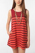 COPE Striped Tank Dress  #UrbanOutfitters