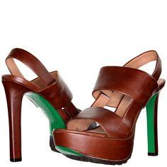 Donald J Pliner - DAVA - Vachetta Leather Platform Sandal