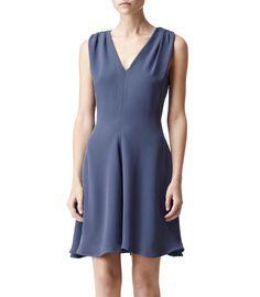 Reiss Gita Dresses  blue colour