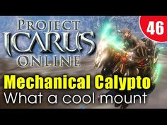 Project Icarus Online Mechanical Calypto Showcase - Riders Of Icarus