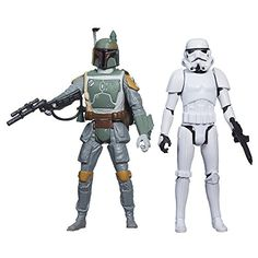 Star Wars Mission Series Figure Set Boba Fett and Stormtrooper *** Check out the image by visiting the link.