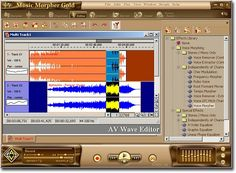 AV MUSIC MORPHER GOLD 5.0 makes editing audio and doing DJ tasks just a snap. It is packed full of powerful features including  a brand new virtual DJ, a new Converter module, a multi-track recorder and editor, a whole suite of professional effects and our famous patented vocal Remover and Extractor.  Free trial version for you: http://mp3-player.audio4fun.com/mp3-music-editor-download.htm