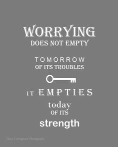Worrying does not help.    #gastroparesis #gpawareness #inspiration