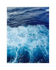 """Wavy Blue"" - Art Print by CaroleeXpressions in beautiful frame options and a variety of sizes."
